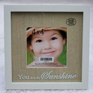 """""""You Are My Sunshine"""" 4x4 Picture Frame"""